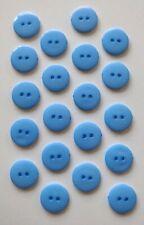 10-20 Mm Plastic Shank Botones Costura Scrapbooking Manualidades Hágalo usted mismo Redondos Paños 50 un