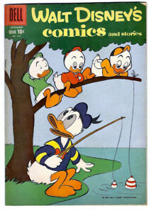 Walt Disney's COMICS and STORIES #228 in VF- a 1959 Dell comic DONALD DUCK