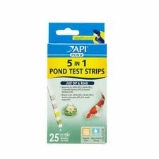 Api Pond 5 In 1 Test Stripes 25 Count. 5In1 Dip & Read. Free Shipping In The Usa