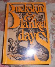 paperback Buckskin and Blanket Days Thomas Henry Tibbles book Cowboys