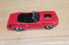 Vintage Red Plymouth Barracuda Mattel Hot Wheels Convertible Toy car Collector