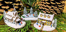 "Thomas Kinkade Tiny Tidings Village Collection ""Winter Welcome"""