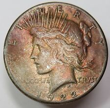 1922-S Silver Liberty PEACE Dollar $1 US Coin Item #11641
