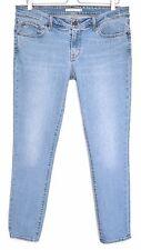 Ladies Womens Levis 711 SKINNY Blue Mid Rise Stretch Jeans Size 14 W32 L32