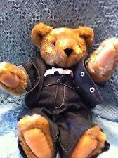 "NOS 2009 VERMONT TEDDY BEAR 17"" ELVIS PRESLEY ""JAILHOUSE ROCK"" BEAR"