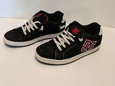 DC Skate Shoes Court RS Black Red White Men's Size 10