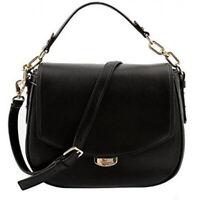 NWT KATE SPADE NEW YORK Alecia Shoulder Bag Crossbody Purse Black Gold WKRU3926