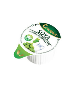 50 x Soya Milk - Lactose Intolerant - Pots / Portions / Jiggers - Free Postage