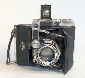Vintage Zeiss Super-IkontaA6x4.5cm, Tessar 7.5cm/3.5, Compur-Rapid. AS-IS
