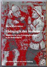 Pädagogik des Anderen v. Werner Wintersteiner 3896880403