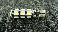 VAUXHALL CAR LED ERROR FREE CANBUS 13SMD XENON WHITE W5W 501 SIDE LIGHT BULB