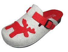 Hausschuhe Dr.Feet Pantoletten Pantoffeln Puschen Schlappen 36 37 Elch Rentier
