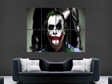 THE JOKER BATMAN THE MOVIE ART KEITH LEDGER WALL POSTER ART PICTURE PRINT LARGE