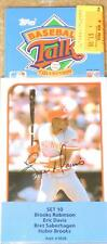 1989 TOPPS BASEBALL TALK COLLECTION SOUNDCARD SET #10 (New In Package)
