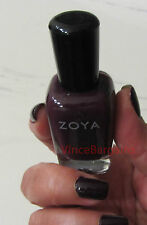 ZOYA Luella Hancock Deep Plum Cream Nail Polish Lacquer Limited Edition ZP9009 .