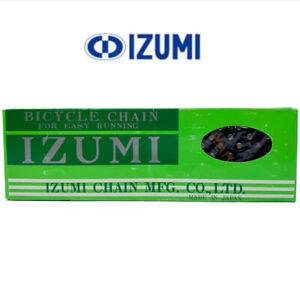 "Izumi #11 Easy Running Black 1/2"" x 1/8"" Single Speed Chain BMX Track Bike"