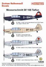 Techmod 1/72 Messerschmitt Bf 108 Taifun Part 2 # 72036