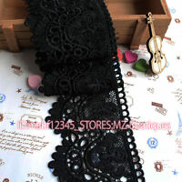 FP146B 8cm,1yard delicate embroidered Cotton lace trim for Skirt Curtain Sewing