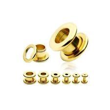 Body piercing tunnel, plug in oro