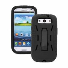For Samsung Galaxy S3 S III i9300 Case Cover Armor Hybrid Protector Kickstand