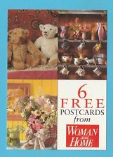 ADVERTISING  -  WOMAN  &  HOME  POSTCARD  SIZED  CARD