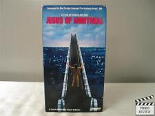 Jesus of Montreal VHS Lothaire Bluteau; Arcano; FRE w/ ENG SUB
