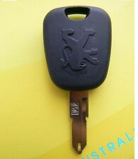 Peugeot 206 Transponder Key Blank with transponder Chip NE55-46 ID46 chip