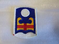 92nd INFANTRY BRIGADE-FULL BOX 200 PATCHES FULL COLOR DATED 1965 PUERTO RICO NG