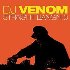 DJ Venom - Straight Bangin 3 (Audio CD - 2004) - (Explicit Lyrics) NEW