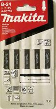 Makita B-24 A-85759 Basic Cut Metal Jigsaw Blade 5pcs Bosch Dewalt AEG Milwaukee
