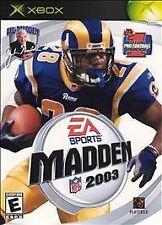 Madden NFL 2003 (Microsoft Xbox, 2002)
