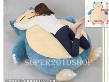 """Pokemon GO 59"""" Giant Snorlax Kabigon OA carpet Filled Bed Sofa toys EMS ship"""