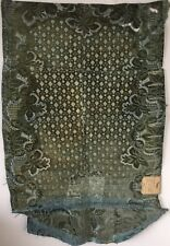 Rare Beautiful 18th C. French Silk Velvet Section of a Vest (2464)