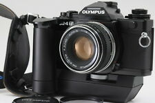 """Near MINT"" Olympus OM-4TI 35mm SLR Film w/ 50mm lens + Winder2 From Japan #0574"