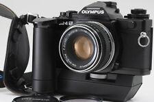 """Near MINT"" Olympus OM-4TI 35mm SLR Film w/ 50mm lens + Winder2 From Japan #0574"