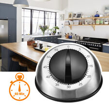 Long Ring Bell Alarm Loud 60-Minute Kitchen Cooking Wind Up Timer Mechanical