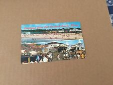Greetings from Old Orchard Beach Maine Multi View 1960's postcard