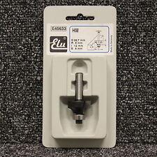 ELU e45633 Tct teniendo guiada ronda más Router Cutter 8 Mm De Vástago D22.7 R5 I12