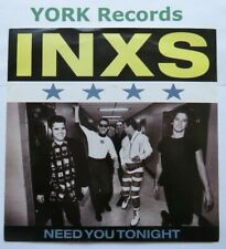 "INXS - Need You Tonight - Excellent Condition 7"" Single Mercury INXS 12"
