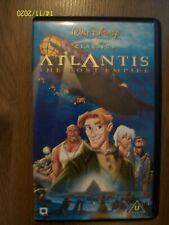 Atlantis The Lost Empire Walt Disney Classics VHS Video