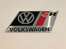 VOLKSWAGEN R LIGNE BADGE EMBLÈME noir compatible avec VW GOLF GTI VR6 R32 MK 2 3