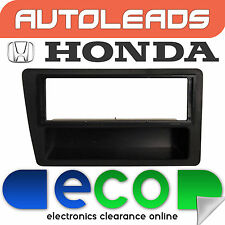 Autoleads Honda Civic EP3 2000-2005 Black Stereo Fascia Facia Replacement Panel