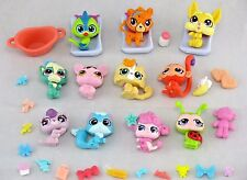 Littlest Pet Shop *LPS* 35+pc MINI STYLE BABY PETS DOG CAT DECO BITS ~ GIFT BAG!