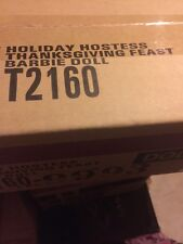 BARBIE HOLIDAY HOSTESS THANKSGIVING FEAST DOLL NIB +  GOLD LABEL