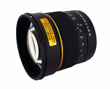 Samyang 85mm f/1.4 MF IF ASP MC Lens For Canon