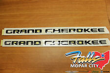 2014-2016 Jeep Grand Cherokee Altitude Edition Emblem Nameplate Set Mopar OEM