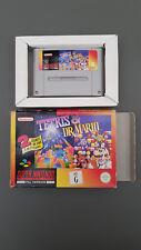 Tetris & Dr Mario Super Nintendo - ***IN BOX*** - PAL version. 2 games in one