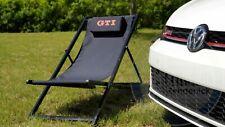 Orig Volkswagen VW GTI Liegestuhl schwarz Waben GTI Wörthersee 5HV069635