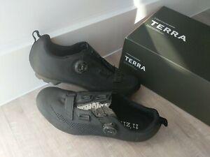 Fizik X5 Terra MTB Cycling Shoe Black UK 9.25, EU 43.5, US 10.25