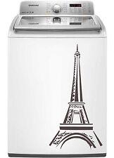 Eiffel Tower Paris Sticker Decal Dishwasher Refrigerator Washing Machine Stove